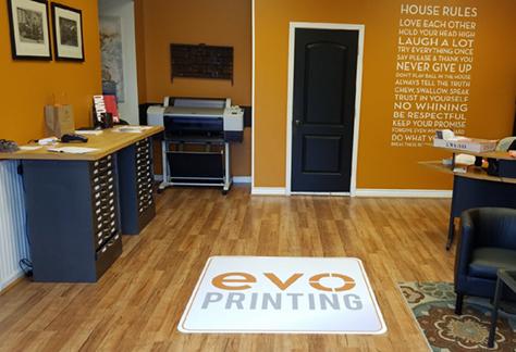 evolution printing