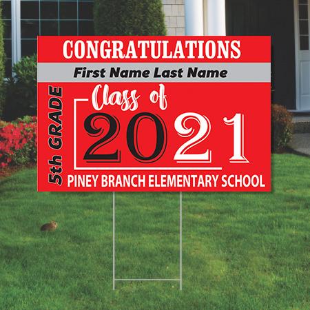 Piney Branch 5th Grade - Yard Signs