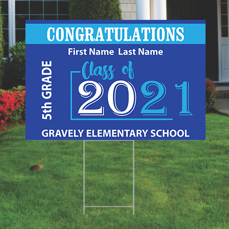 Gravely 5th Grade - Yard Signs