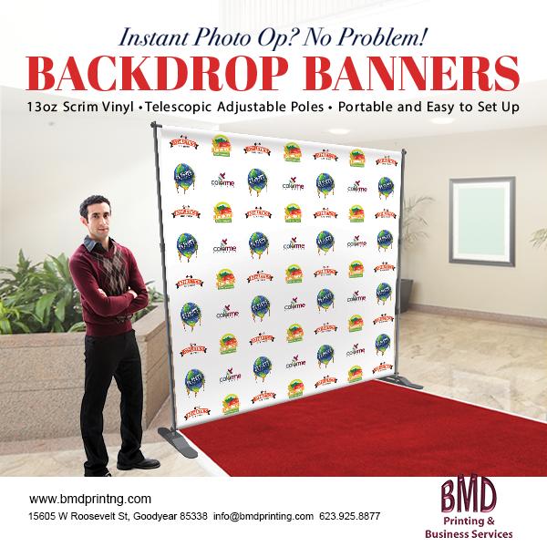 8x8 ft Vinyl Backdrop with Frame