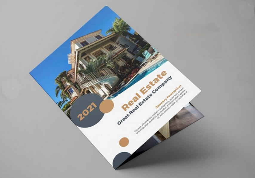 Real Estate Folded Brochures