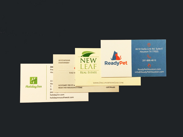 14 pt Matte Business Cards