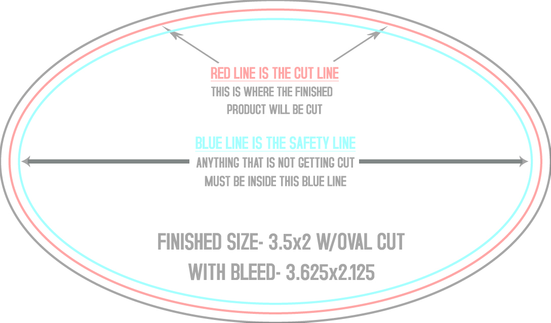 McConnell Printing · Oval Business Card