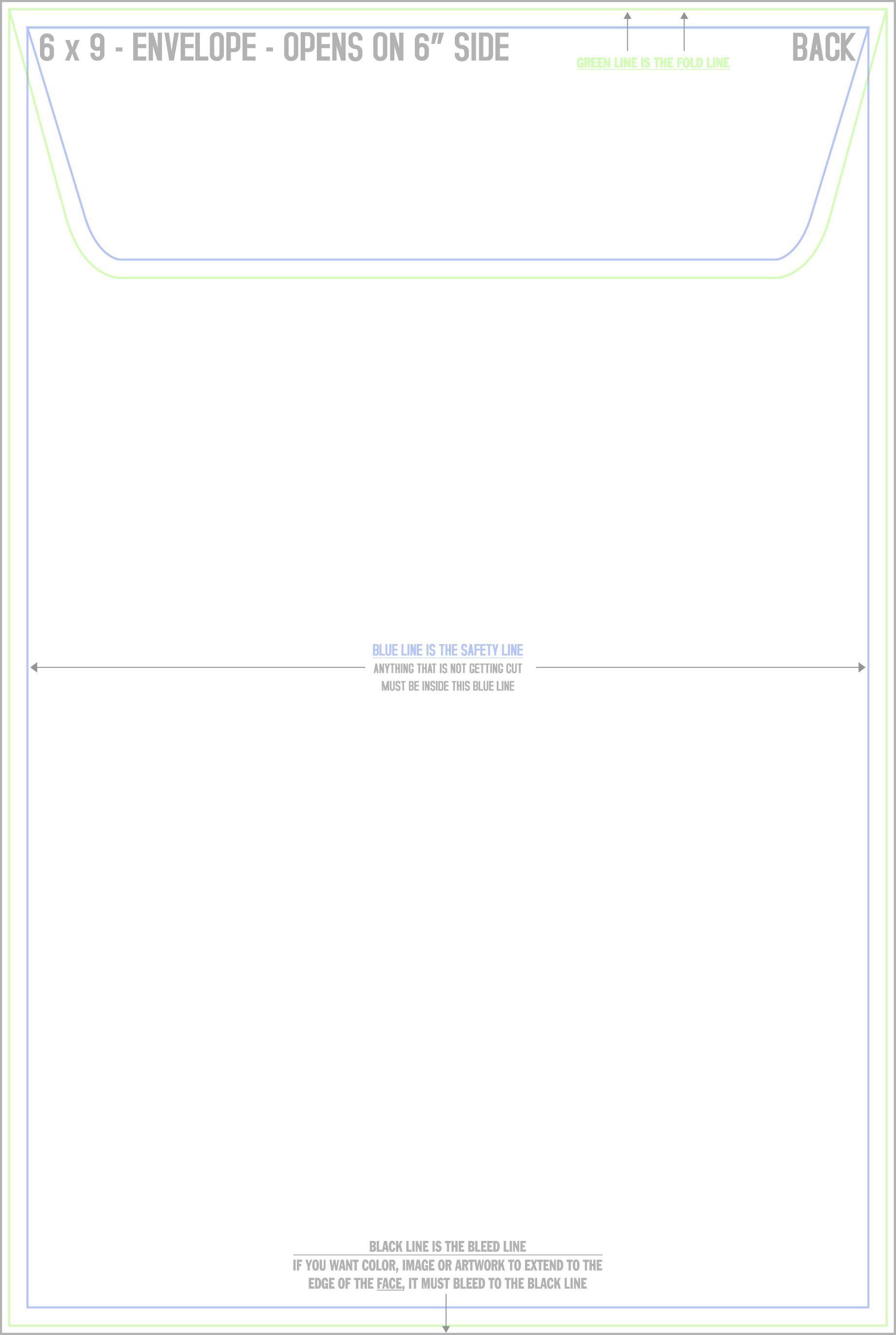 6 x 9 postcard template