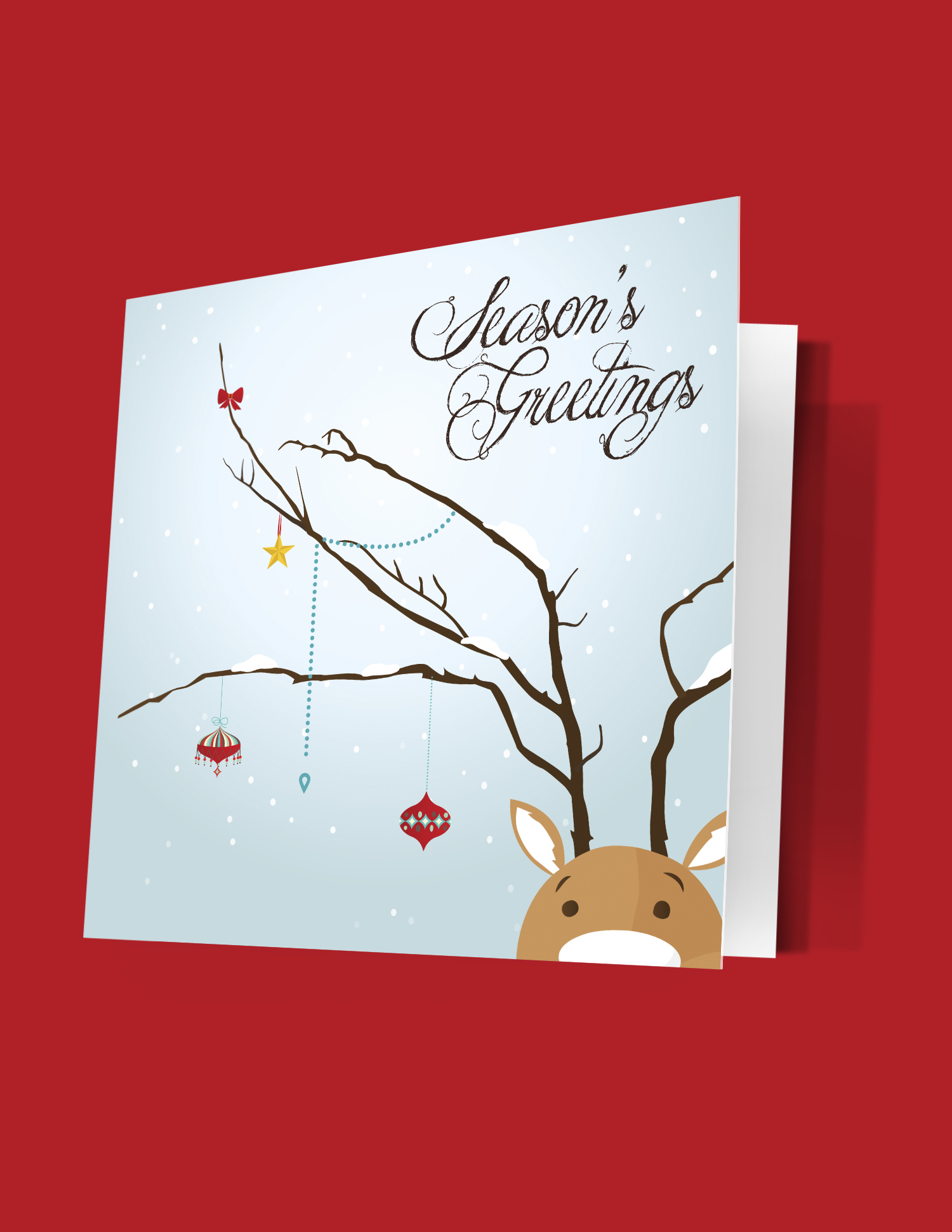 Mcconnell Printing Offset Greeting Card