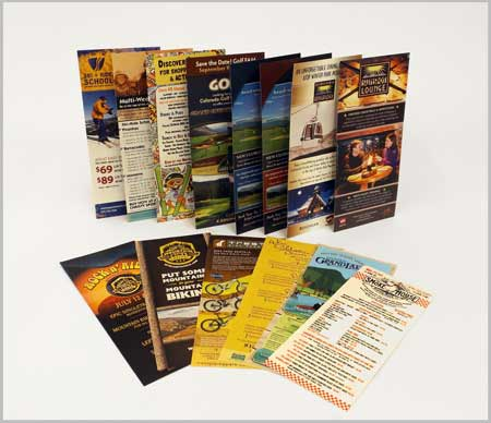 Rack Cards printed by McConnell Design & Print