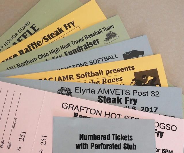 Tickets with Stub