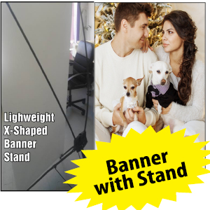 Wedding Banner Stand