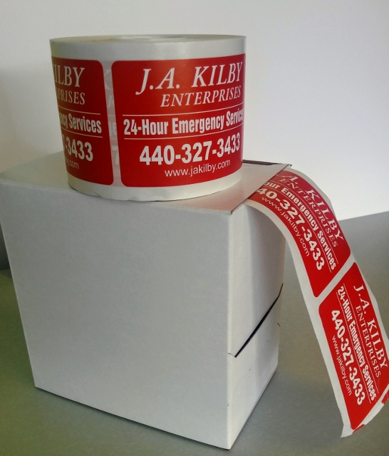 On a Roll, Labels-Stickers