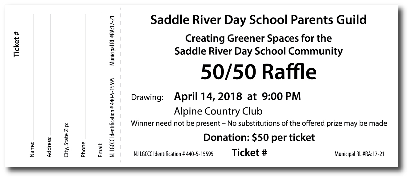 50 50 raffle tickets template images cool raffle ticket template