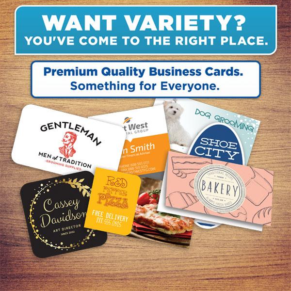 Standard Business Cards