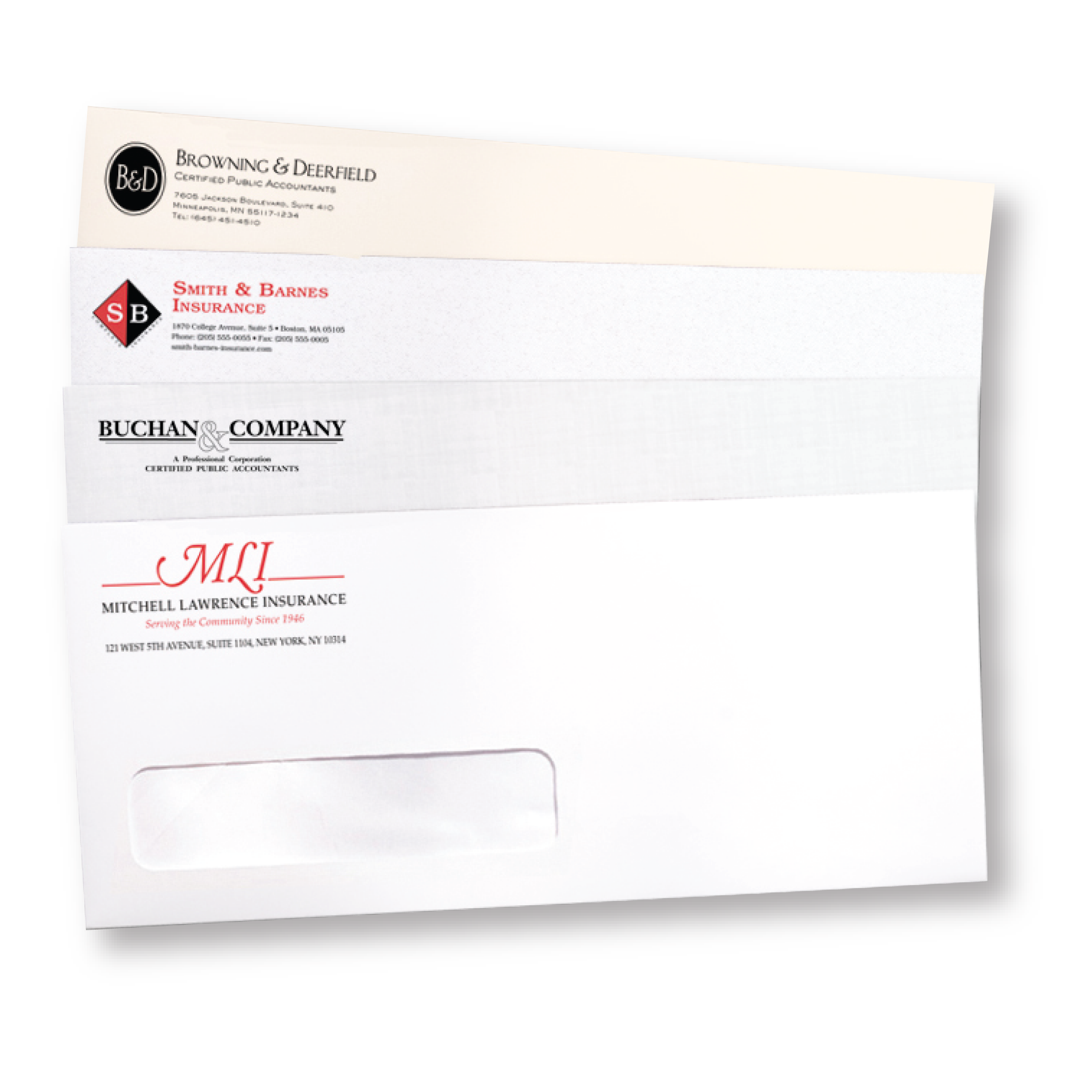 Any Quantity Quick Envelopes - Commercial