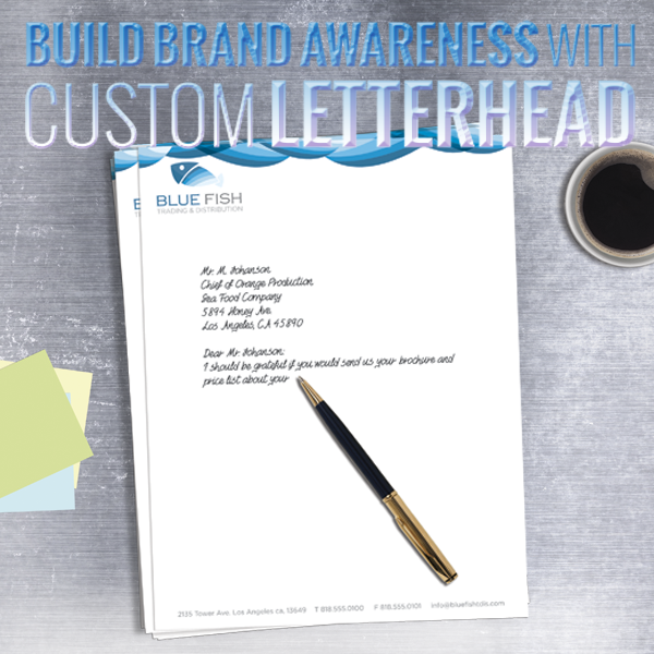 letterhead, full color