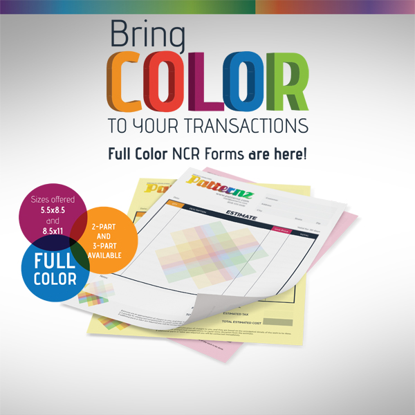 NCR Carbonless Full Color