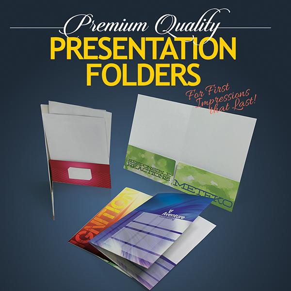 Full Color Economy Folder