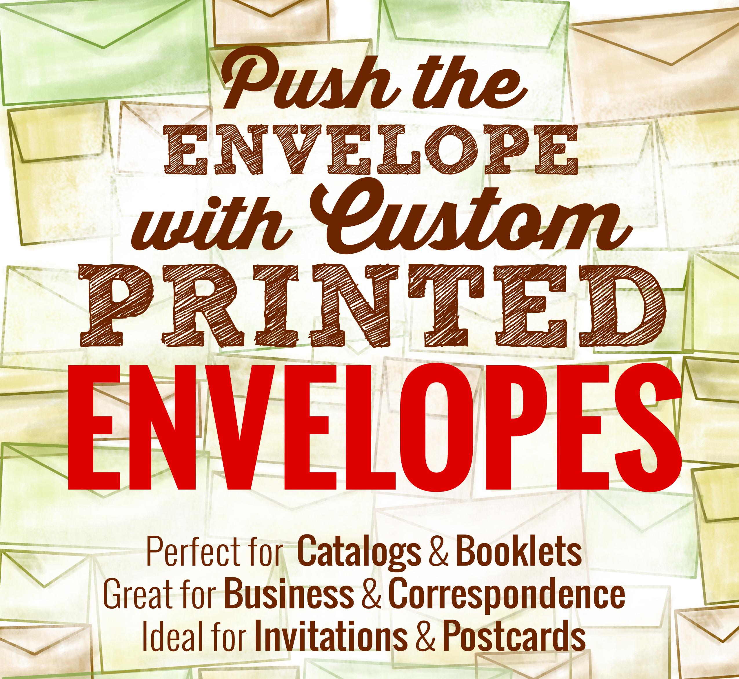 Full Color Envelopes #10 Regular