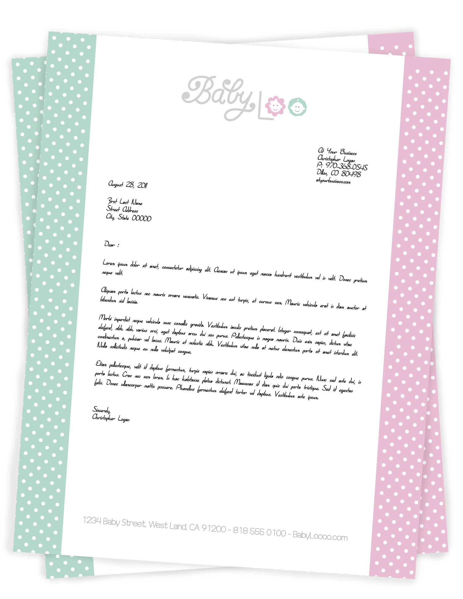 letterhead full color digital