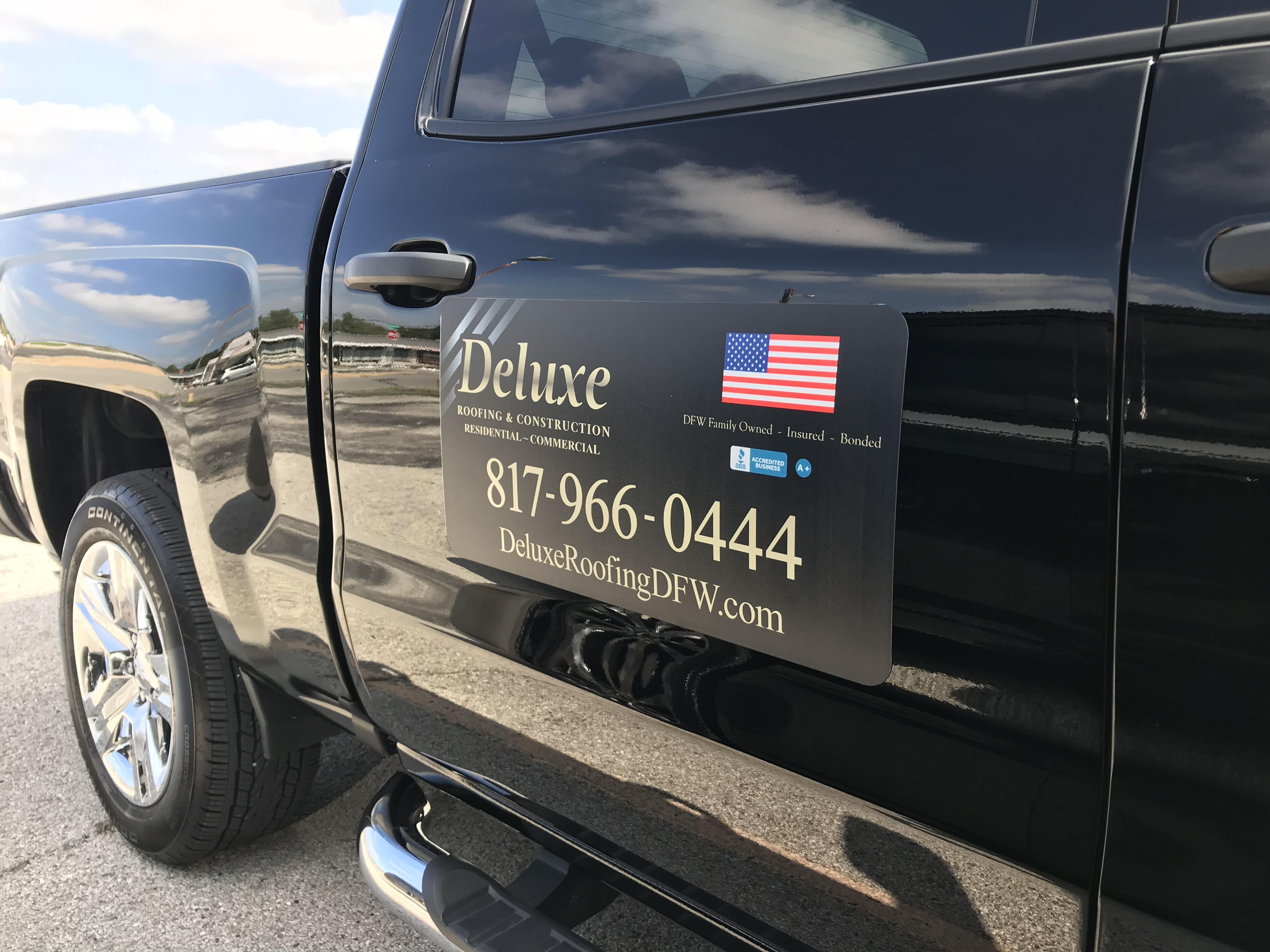 car magnet truck magnet deluxe roofing
