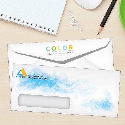 Full Color Envelopes A7 Linen