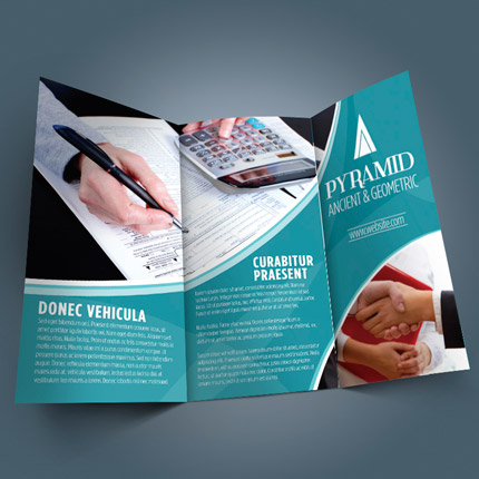 flyer and brochure full color