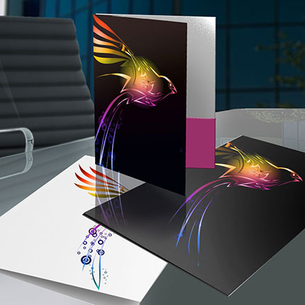 large presentation folders pocket folder