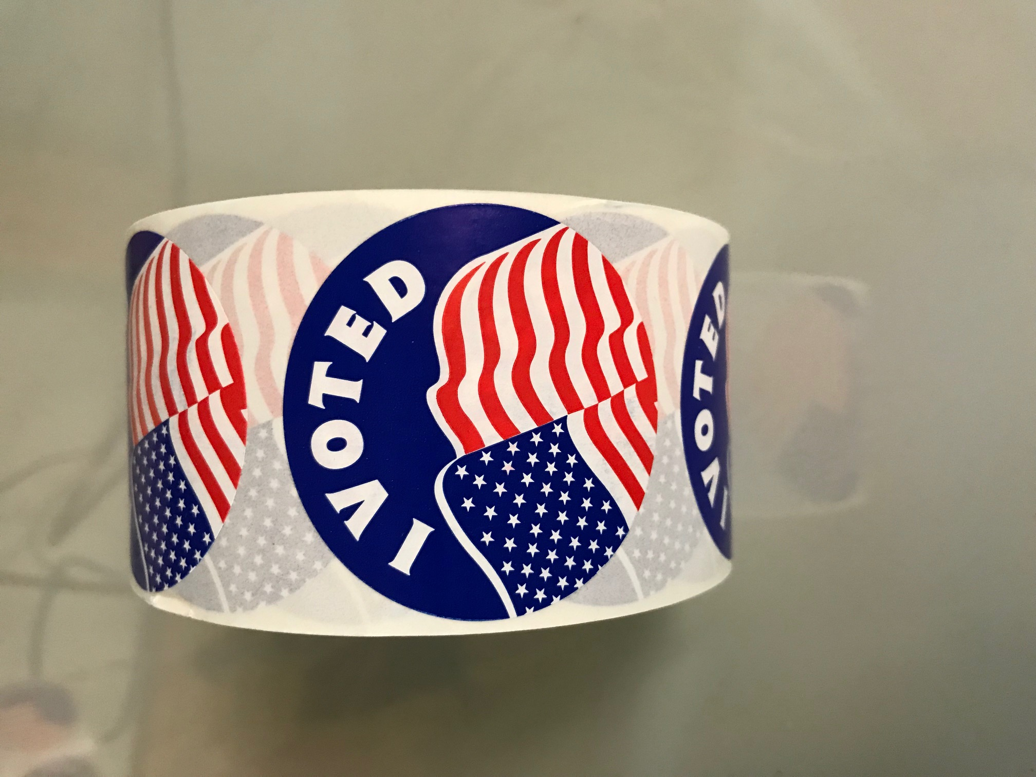 picture relating to I Voted Stickers Printable called AMG Printing Mailing · I Voted Stickers