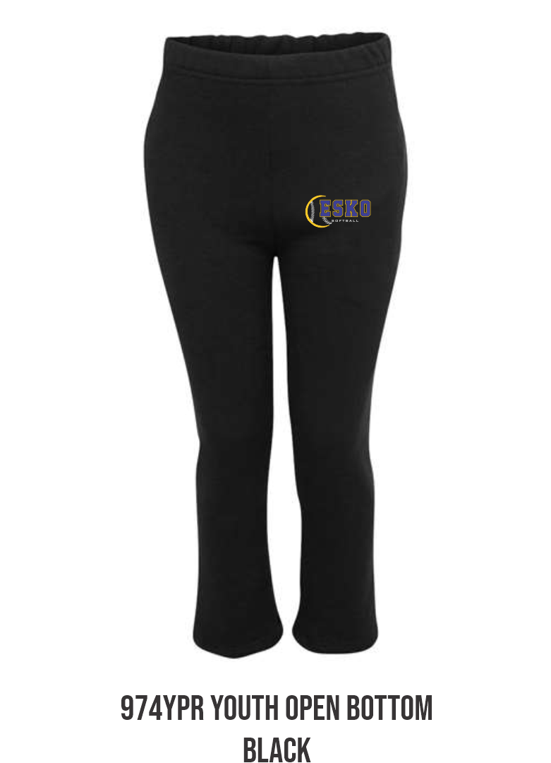 974YPR YOUTH OPEN BOTTOM PANT