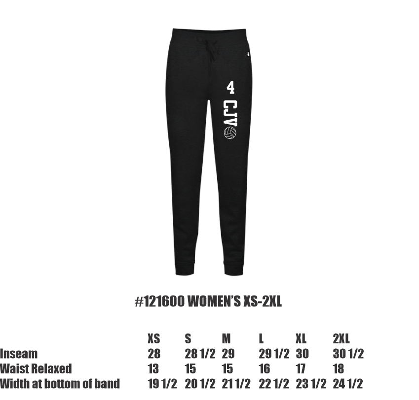 Joggers (Youth & Women)