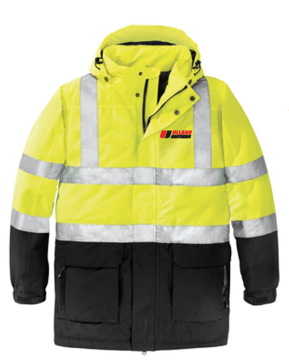Port Authority® ANSI 107 Class 3 Safety Heavyweight Parka. # J799S