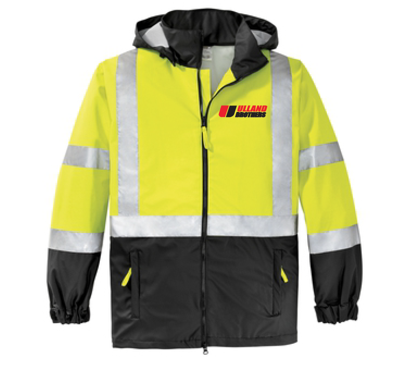 CornerStone® - ANSI 107 Class 3 Safety Windbreaker. # CSJ25 SM-XL
