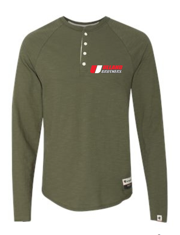 Ao380 Champion Henley GREEN LUCK S-XL