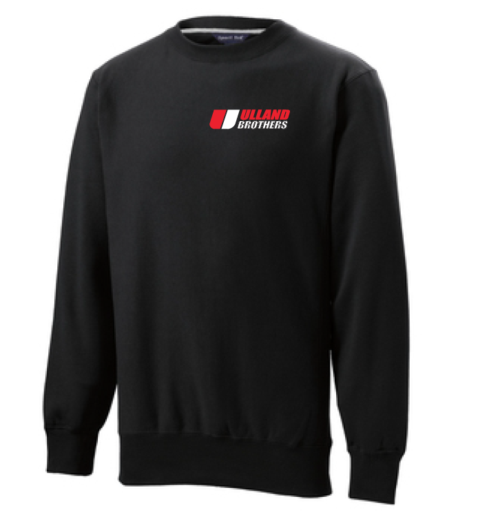 F280 Sport-Tek Super Heavyweight Crewneck Sweatshirt BLACK S-XL