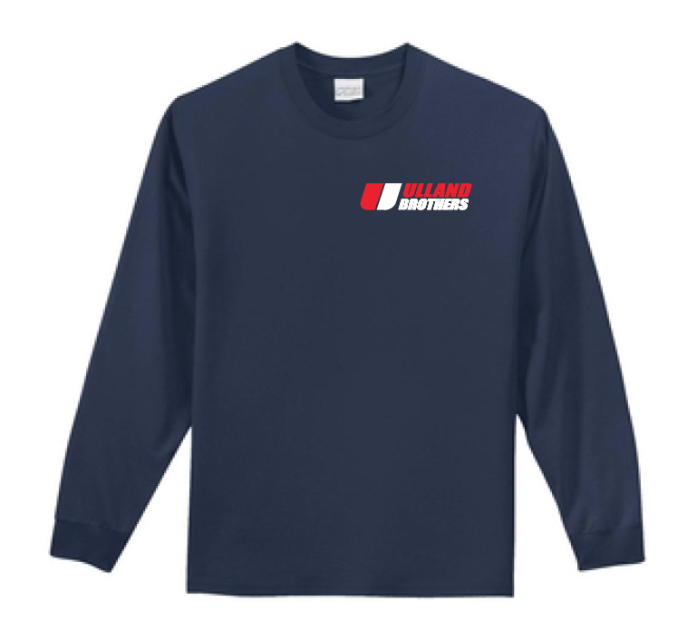 PC61LS Port & Company Long Sleeve T-Shirt NAVY S-XL