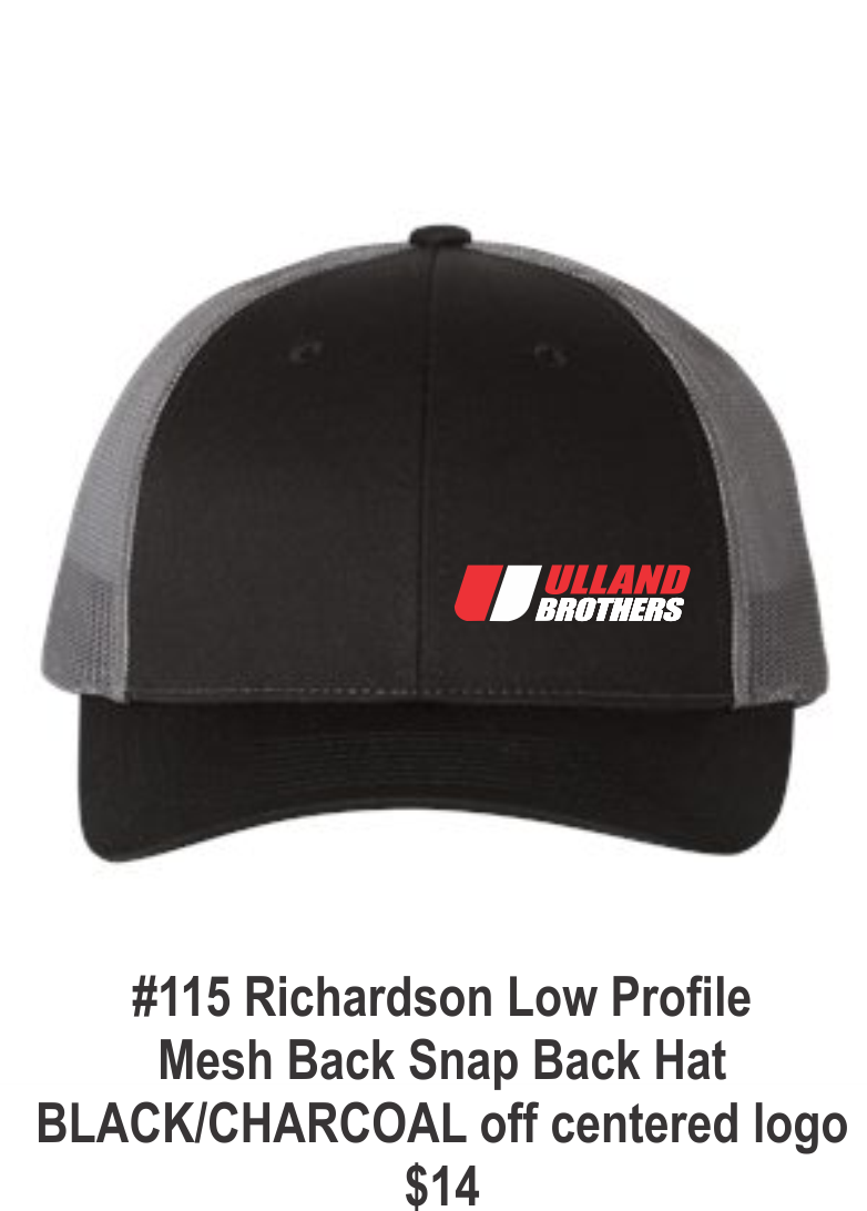 #115 Richardson Low Profite Mesh back