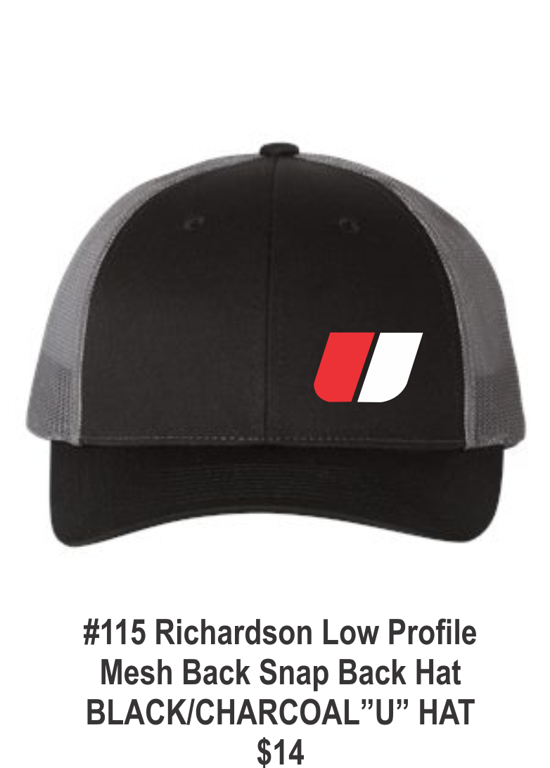 "#115 Richardson Low Profile Mesh Back "" U "" hat"