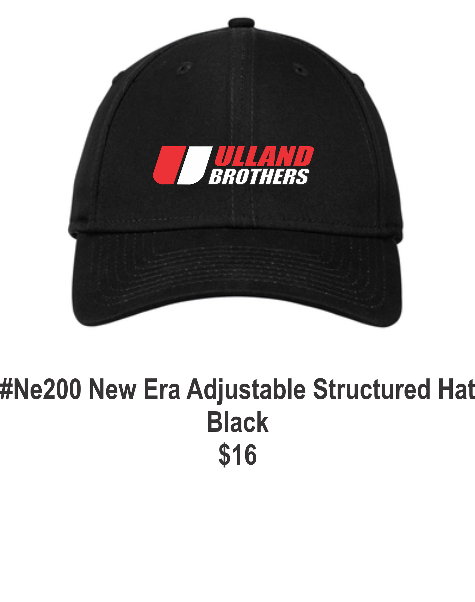 New Era 200 Adjustable Structured Hat