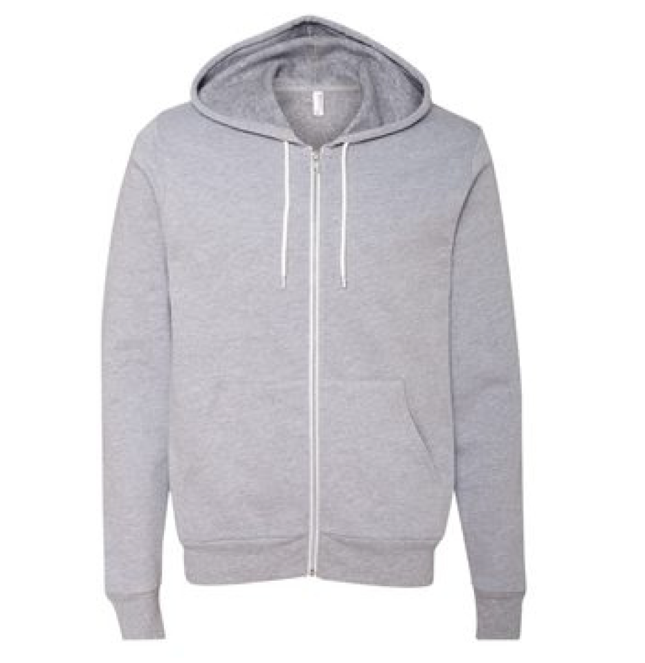 Bella Canvas Unisex Sponge Fleece Full Zip Hoodie - 3739