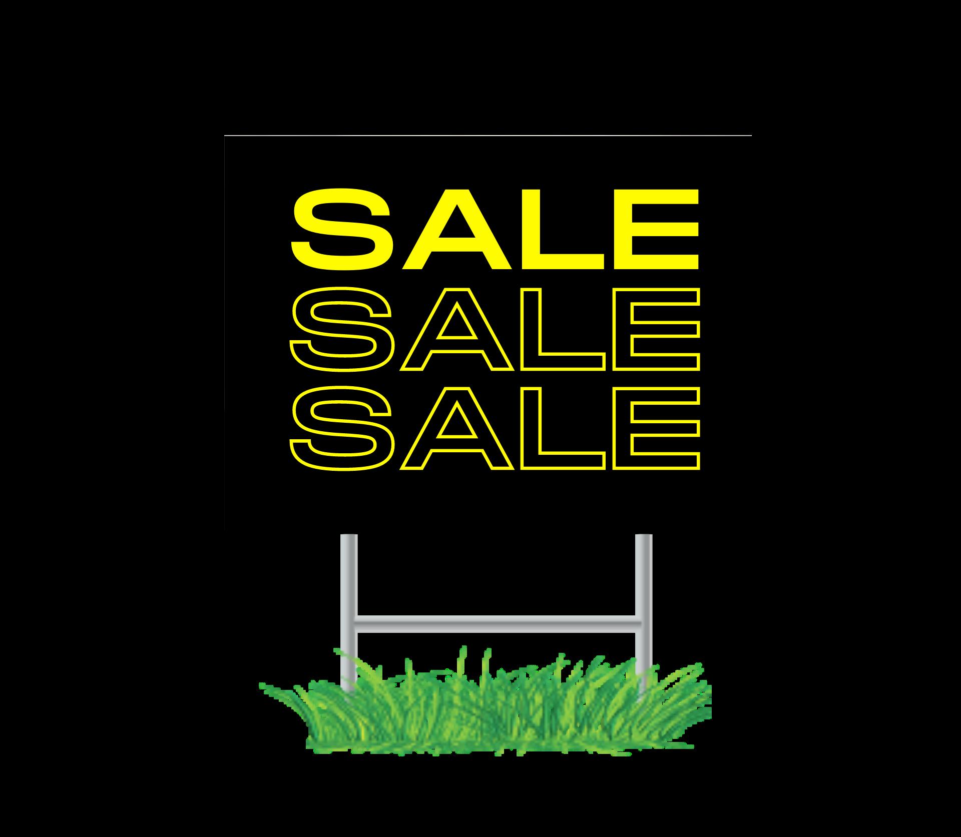 Bargain Yard Signs