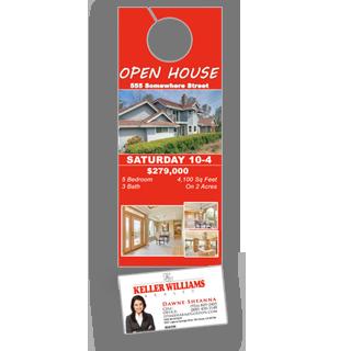 Business Card Door Hangers