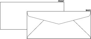Blank #10 Regular Envelope