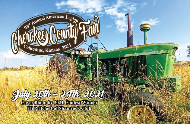 2021 Cherokee County Fair Book Cover photo by Eli Pritchett