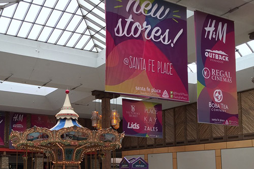 Oversize Fabric Banners