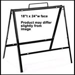 A-frame 24x18 metal