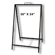 A-frame 36x24 metal