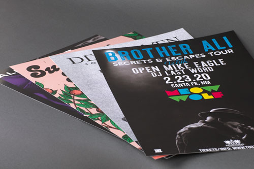 Digitally Printed Posters