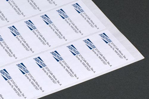 Labels - Standard Mailing