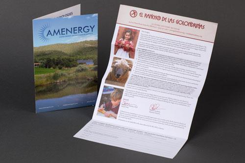 Custom Offset printed Brochures