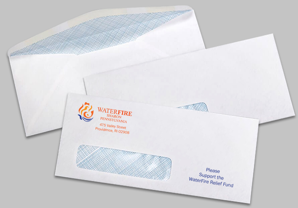 #9 Window Envelopes w/ Security Tint