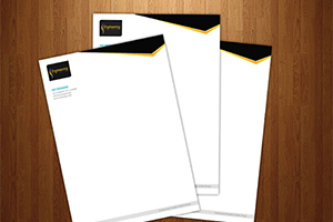 Letterheads on 24# White Bond with Watermark