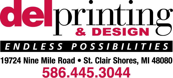 Del Printing Logo